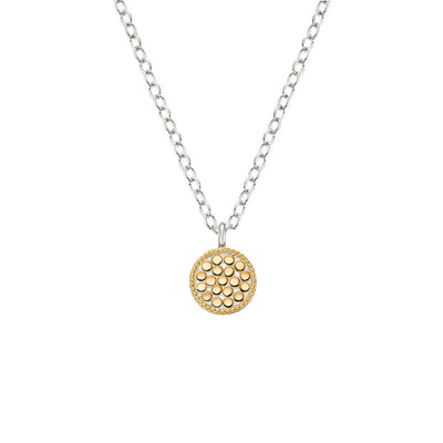 Mini Circle Reversible Necklace