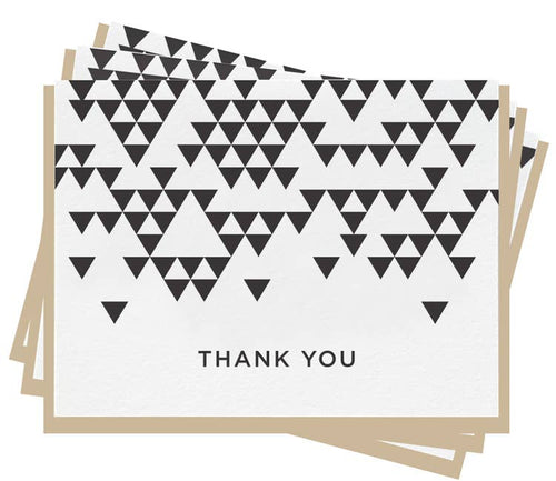 Thank You Triangle - Set Of 6