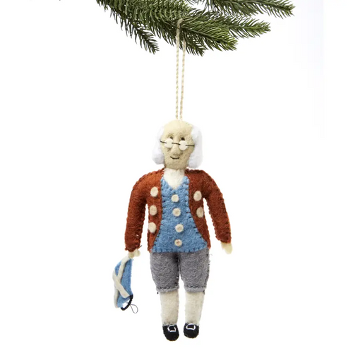 Ben Franklin Ornament