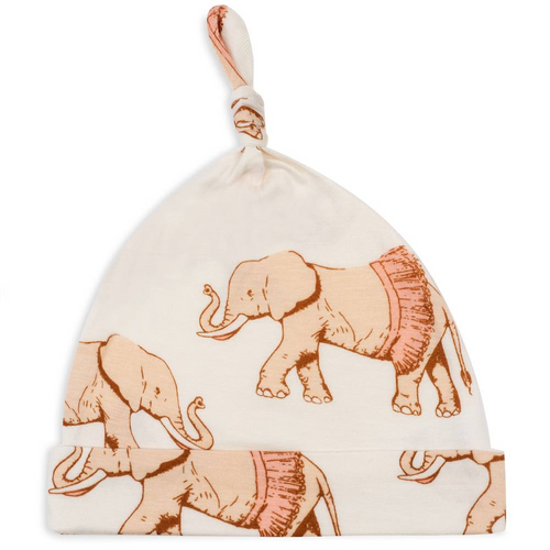 Knotted Hat in Tutu Elephants