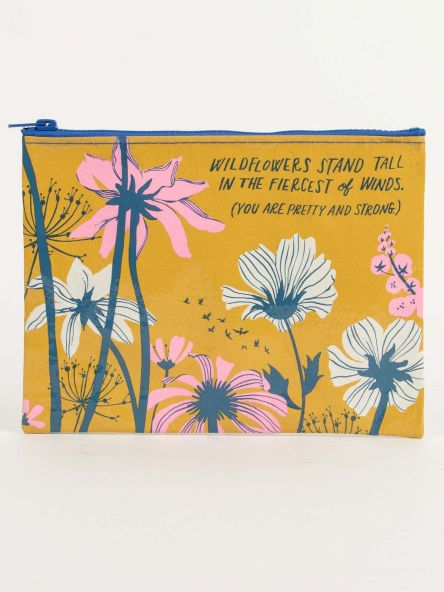 Zipper Pouch: Wildflowers