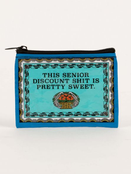 Coin Purse: Senior Discount