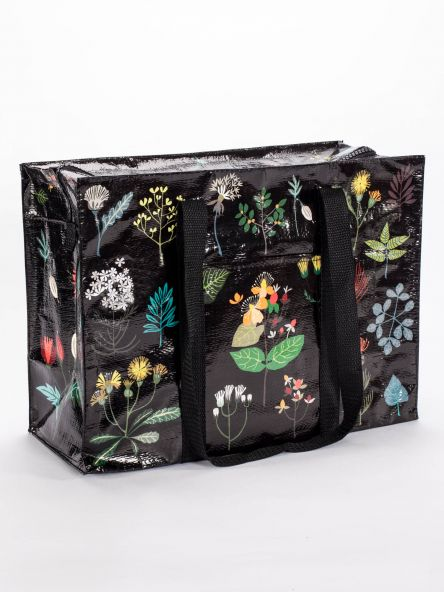 Shoulder Tote with Zipper: Plant Study