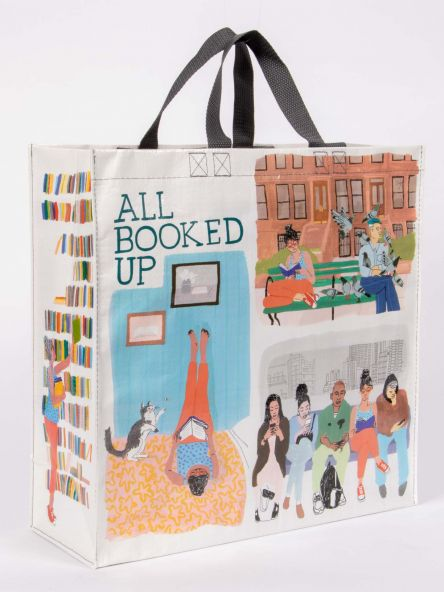 Shopper Tote: All Booked Up