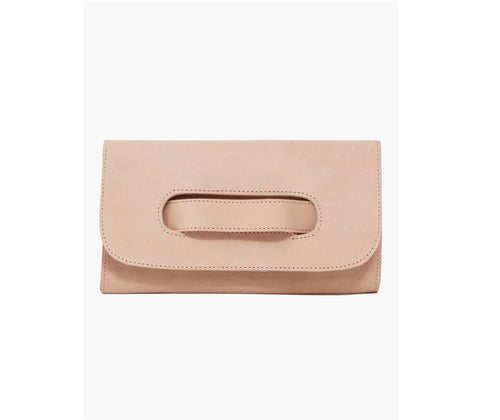Mare Handled Clutch in Mauve