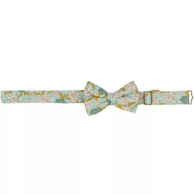 Organic Cotton Baby Bow Tie Green Roost Culpeper Virginia Boutique