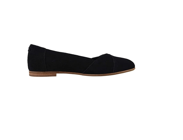 Black Suede Women's Julie Flats