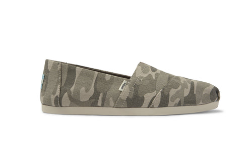 Washed Camo Canvas Women's Classics