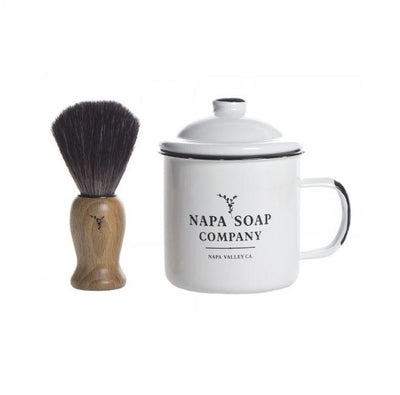 Napa Soap Co Shaving Kit Green Roost Culpeper Virginia Boutique