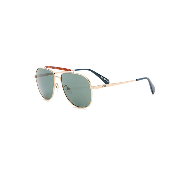 Yellow Gold Booker Polarized Sunglasses