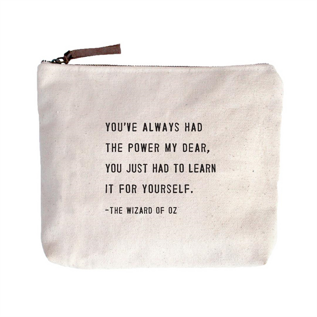 Quote Pouch: The Wizard of Oz
