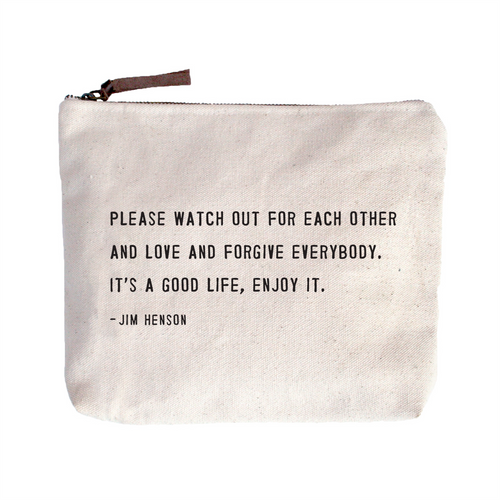 Quote Pouch: Jim Henson