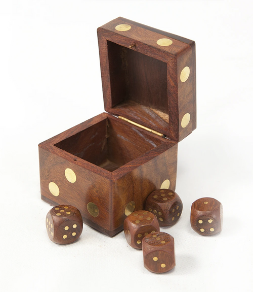 Dice Wood Game