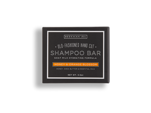 Honey & Orange Blossom Shampoo Bar