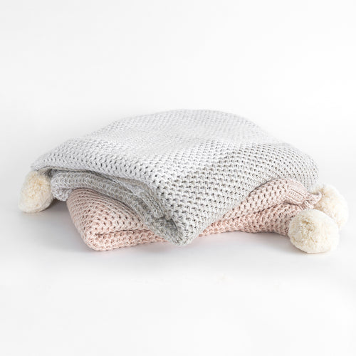 Organic Cotton Bodhi Knit Throw