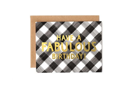 Fabulous Birthday Greeting Card