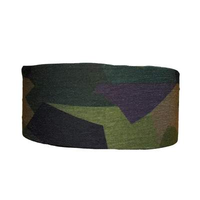 Geometric Camo Tube Turban Headband