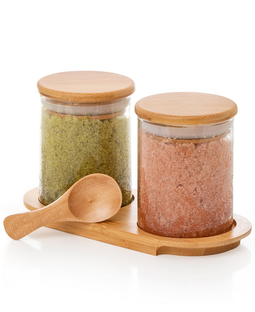 Dual Bath Salt Set (Lavender Citrus / Matcha Mint)