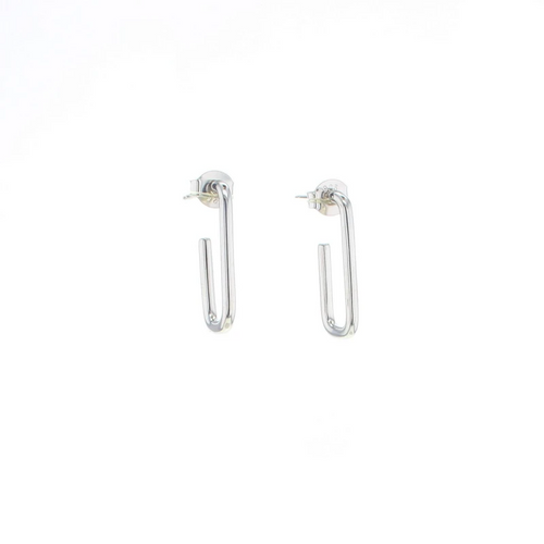 Palmer Earrings in Silver