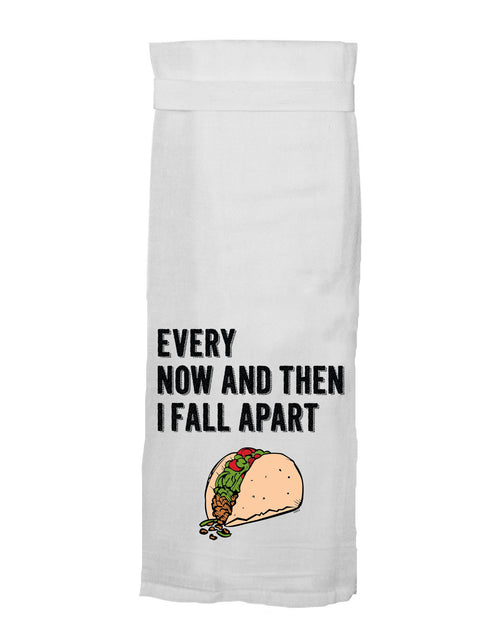 Every Now And Then I Fall Apart Hand Towel