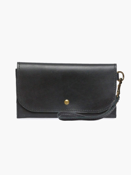 Mare Phone Wallet in Black