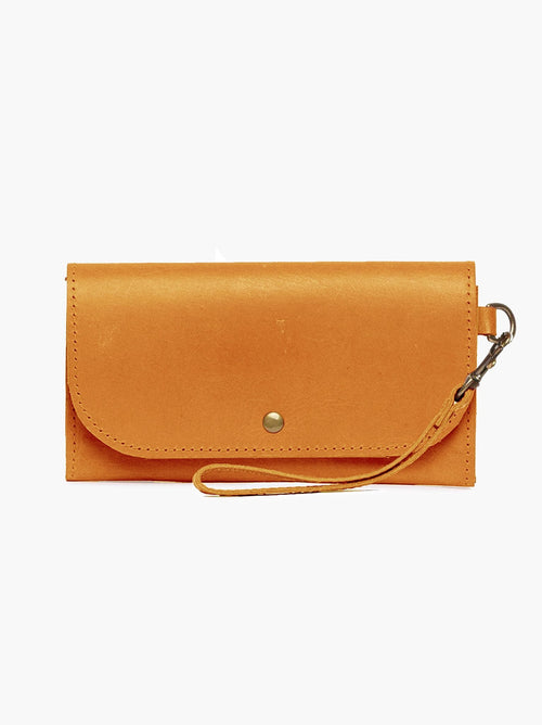 Mare Phone Wallet in Cognac