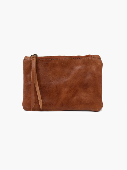 Martha Coin Pouch in Whiskey