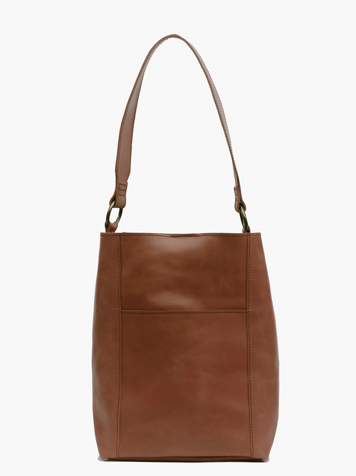 Mihiret Bucket Bag in Whiskey
