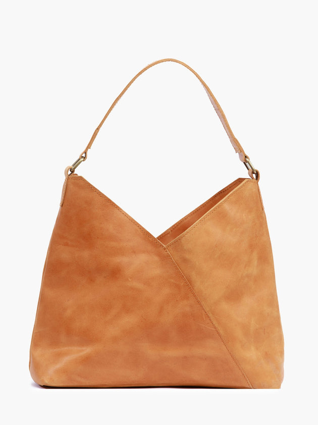 Solome Shoulder Bag in Cognac