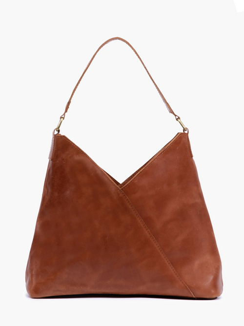 Solome Shoulder Bag in Whiskey