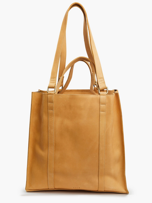 Elsabet Double Handle Tote in Fawn