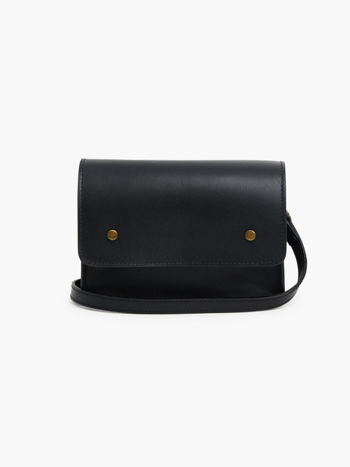 Mare Convertible Belt Bag in Black