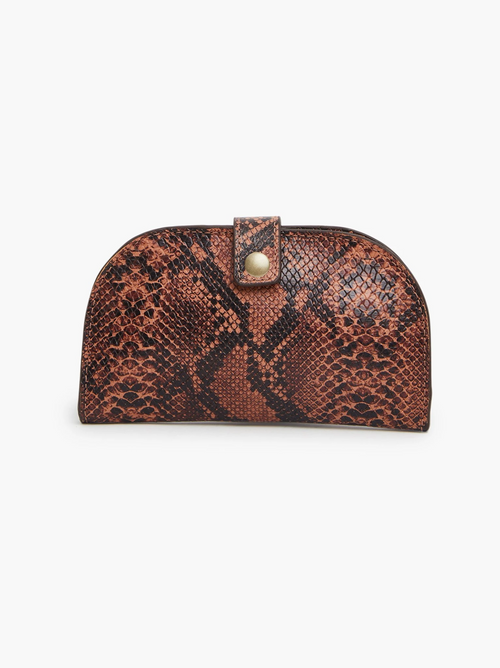 Marisol Wallet in Saddle Snake