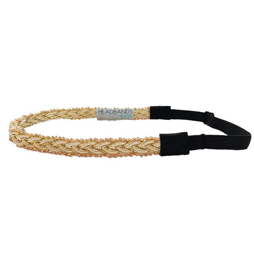 Fools Gold Braided Headband