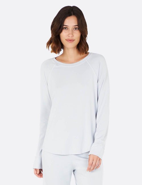 Goodnight Raglan Sleep Top in Dove