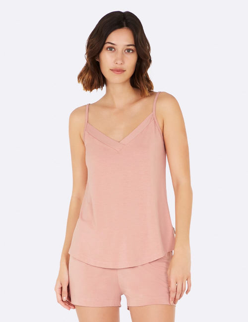 Goodnight Sleep Cami in Dusty Pink