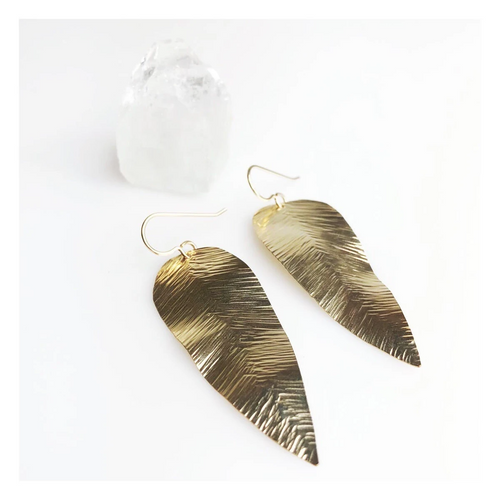 Fern Earring in Gold
