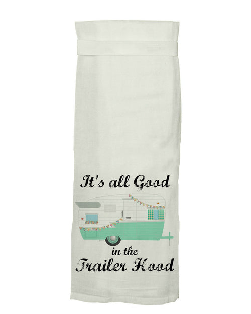 Hang Tight Cotton Hand Towel Green Roost Culpeper Virginia Boutique