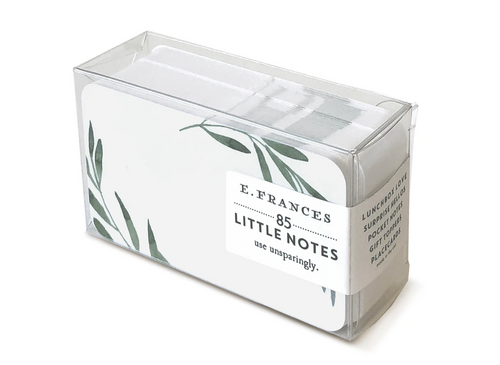Olive Branches Boxed Little Notes