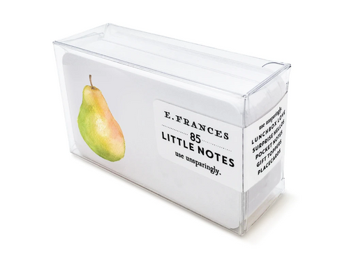 Pretty Pear Boxed Little Notes