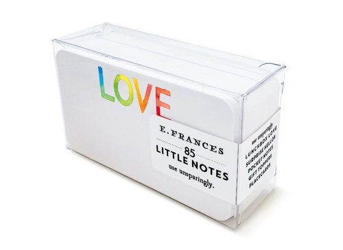 Tie Dye Love Boxed Little Notes