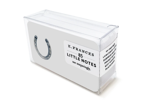 Lucky Horseshoe Boxed Little Notes