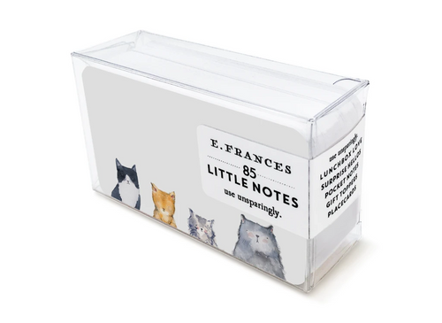 Cat's Meow Boxed Little Notes
