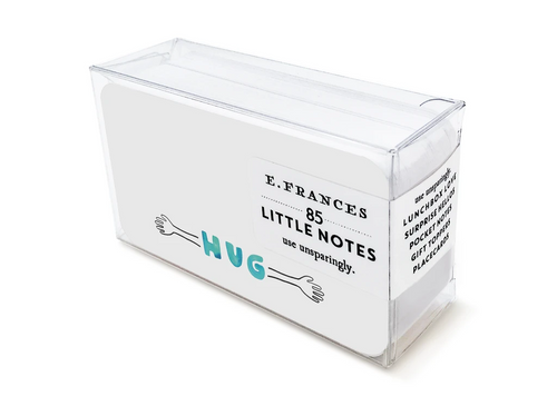 Hug Boxed Little Notes