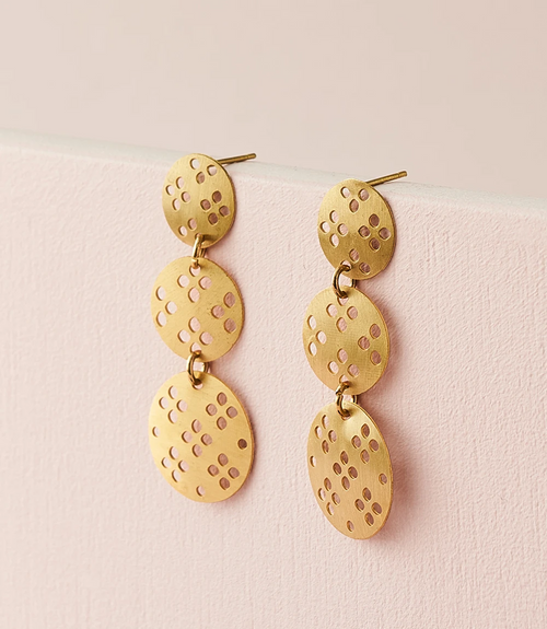 Chameli Blossom Drop Earrings