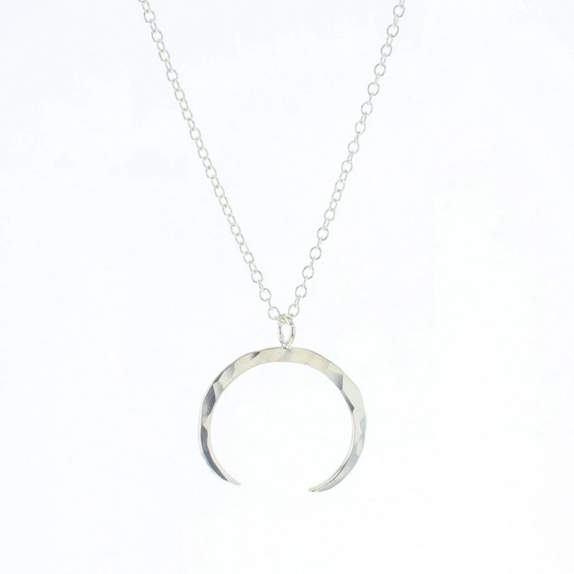 Silver Neptune Necklace