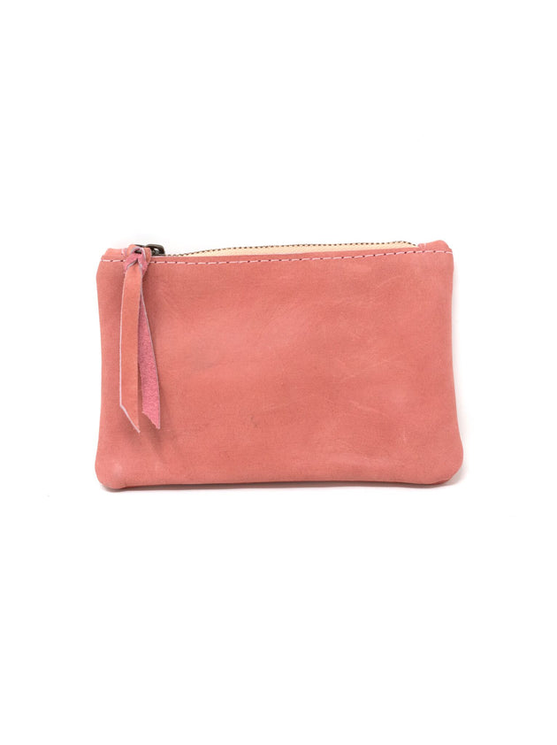 Martha Coin Pouch in Rose