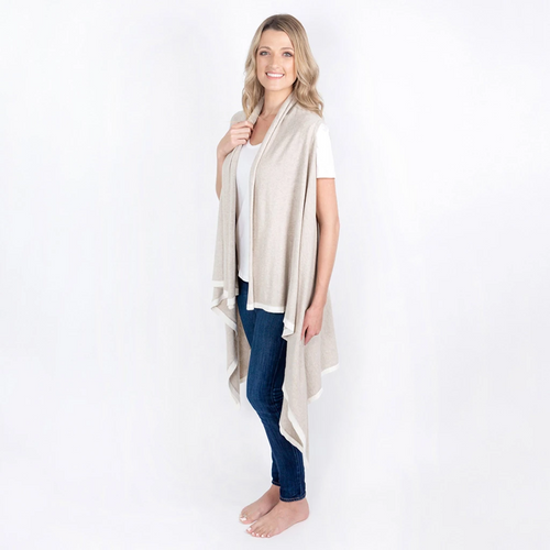 Organic Cotton Berkeley Cape in Birch