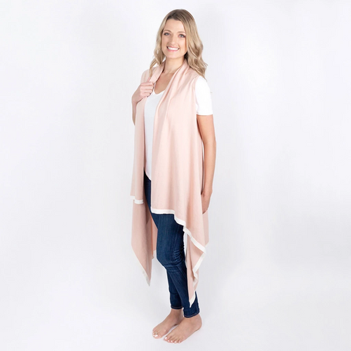 Organic Cotton Berkeley Cape in Blush