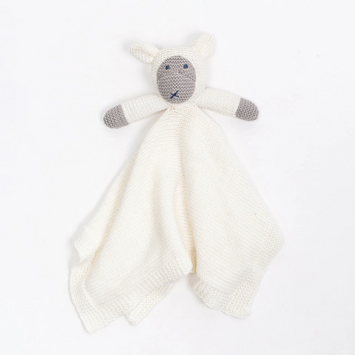 Knit Organic Cotton Sheep Lovey